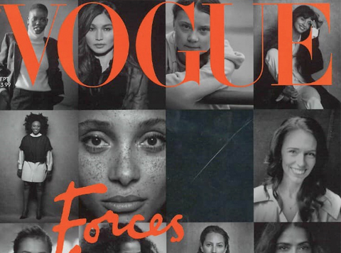 Forces For Change With British Vogue